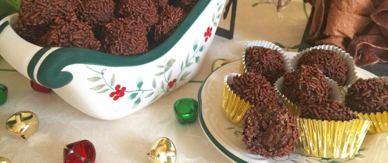 Rum Balls Rumkugeln Christmas Cookies