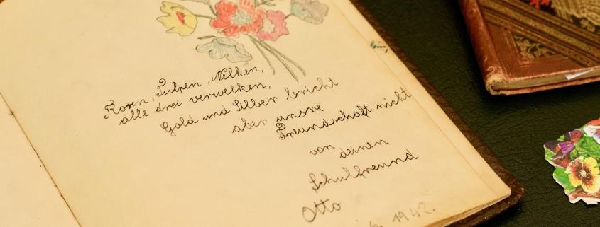 Autograph Book - Poesie Album