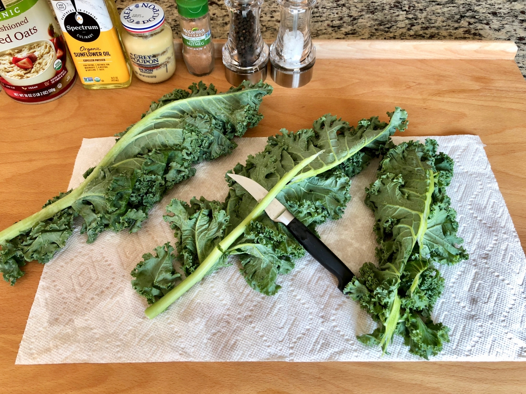 Preparation of the kale