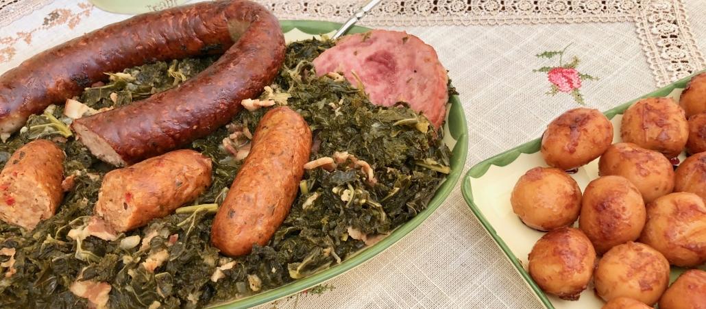 German Style Kale Recipe -Grünkohl mit Pinkel