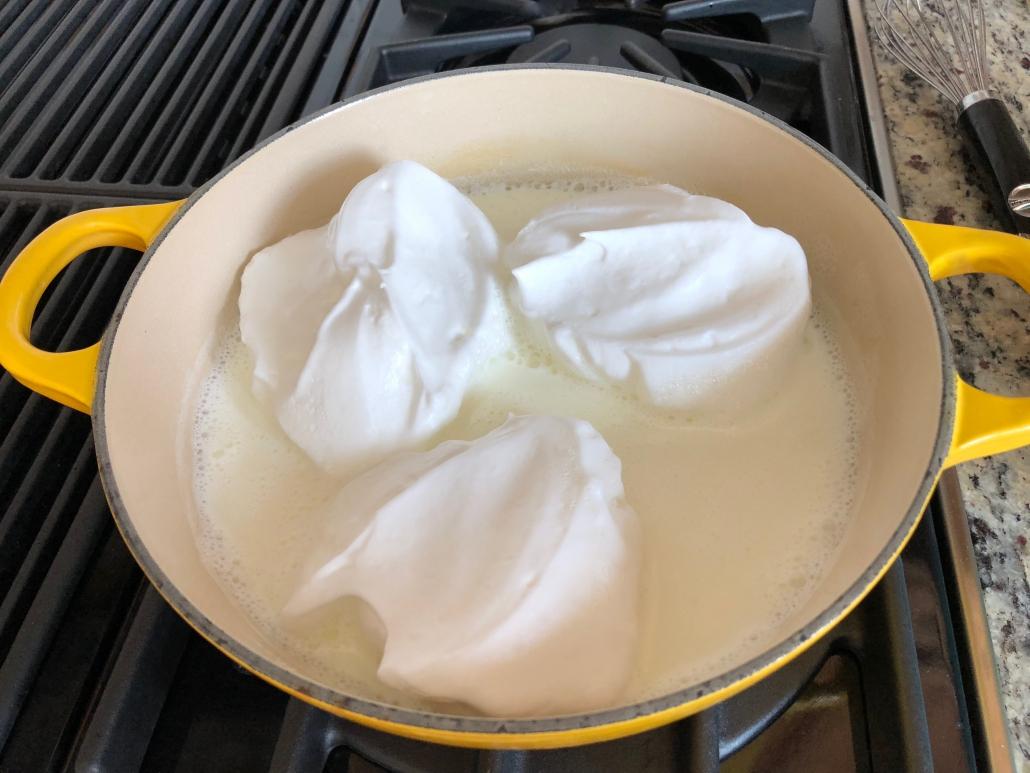 Cooking Schneenockerl