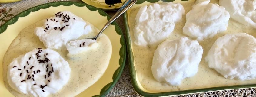 Original German Schneenockerl Snowballs Recipe