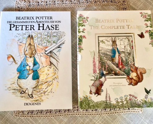 Die gesammelten Abenteuer von Peter der Hase - The complete Tales of Peter Rabbit by Beatrix Potter