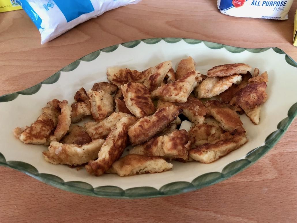 Finishing Kaiserschmarrn Recipe
