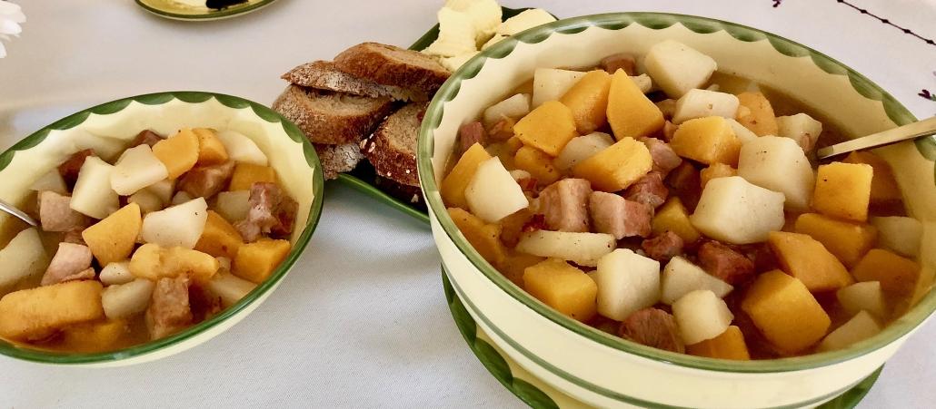 Rutabaga Stew Recipe - Steckruebeneintopf