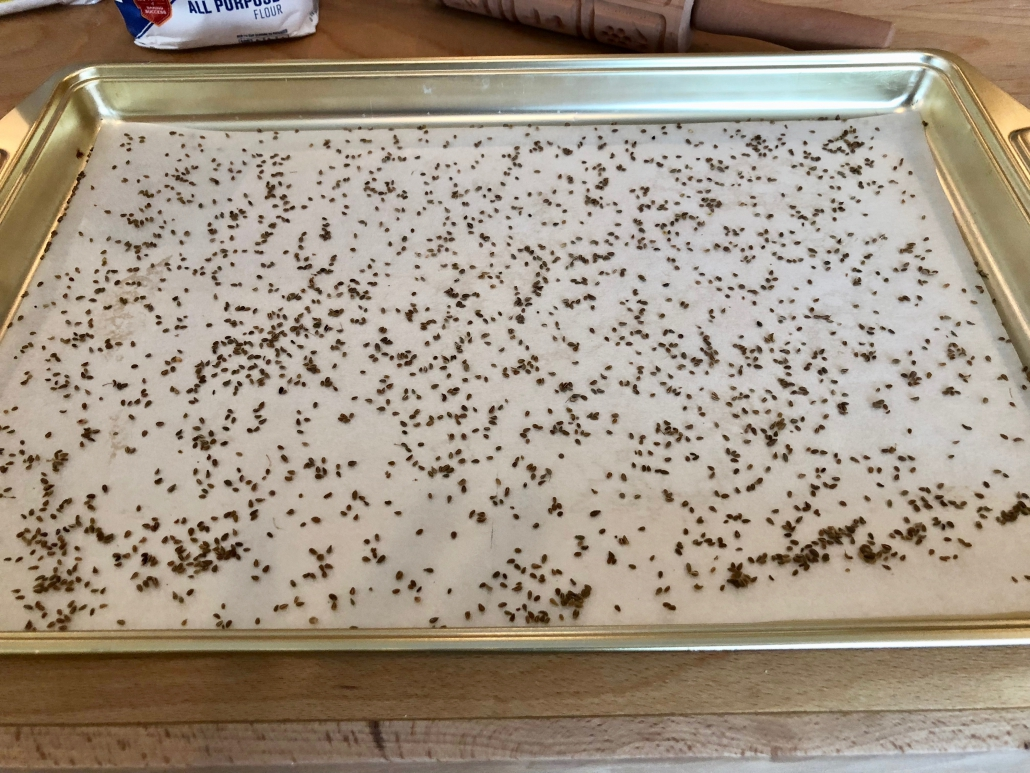 Prepare Baking Sheet