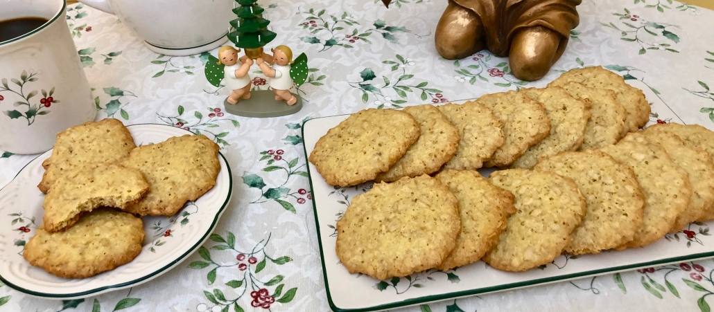 Traditional German Oatmeal Cookies