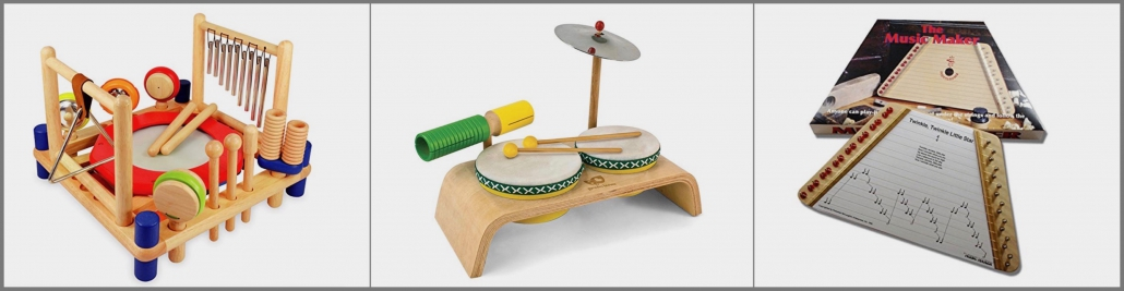 Musik instruments on the Christmas Wish List