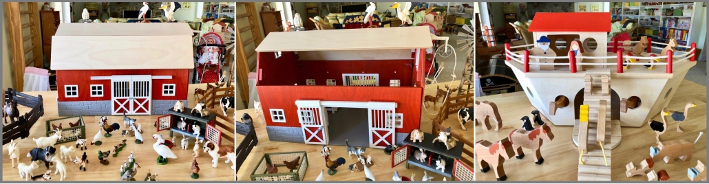 Schleich Barn and Noah's ark on the Christmas Wish List