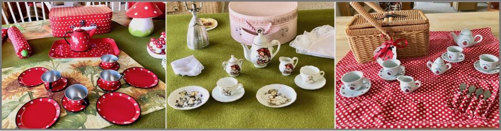 Tea Set and Picknick Set