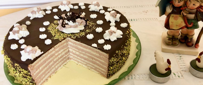 German Chocolate Layer Cake Prinzregententorte