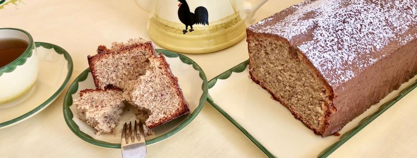 German Hazelnut Cake Nusskuchen