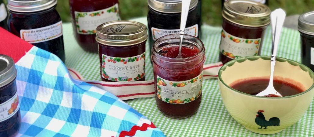 Homemade Jam and Jellies