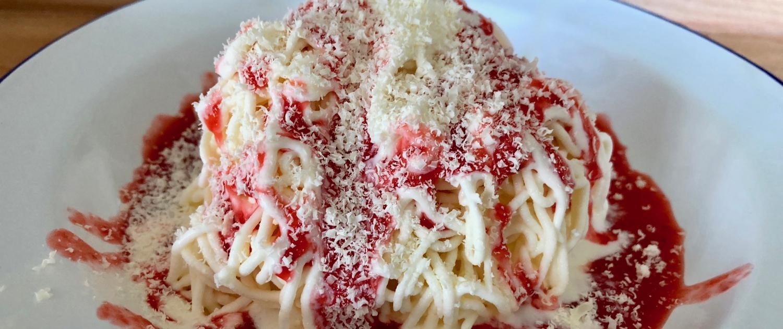 Spaghettieis - Spaghetti Ice Cream