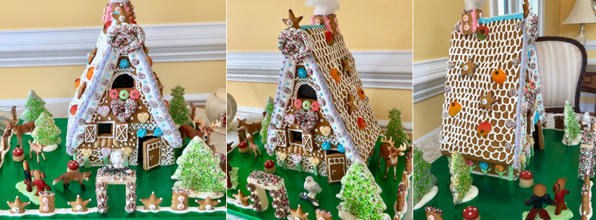 Traditional German Gingerbread House