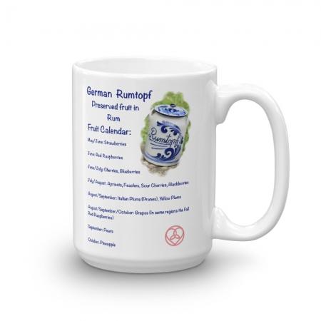 Rumtopf Mug 15 oz