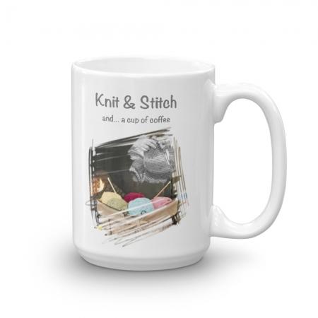 Knitters Mug 15 oz