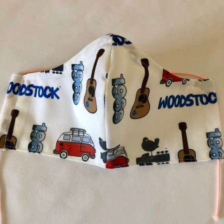 White - Woodstock Mask