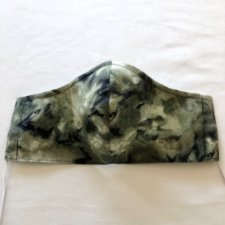 Green Marble Mask