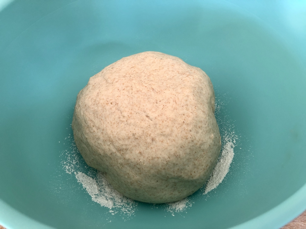 Kneading of the dough