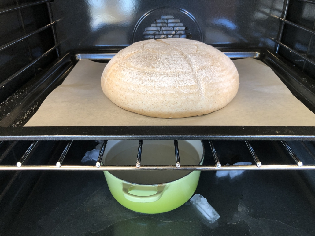 Baking of the Authentic German Bread