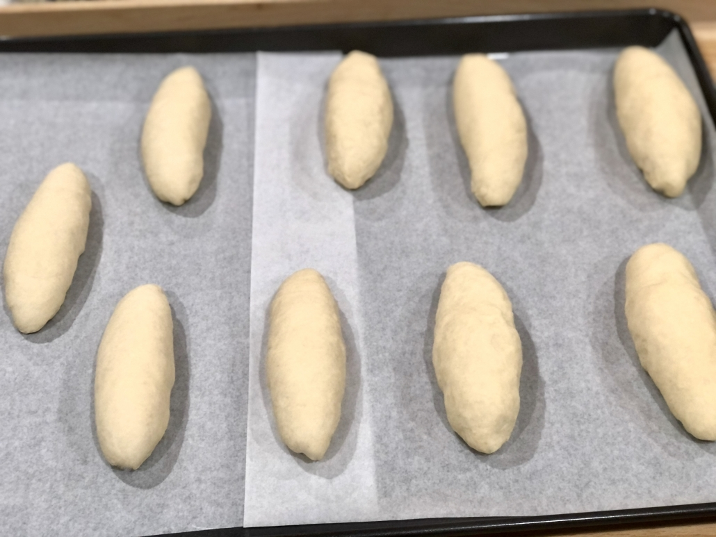 Rising of the dough