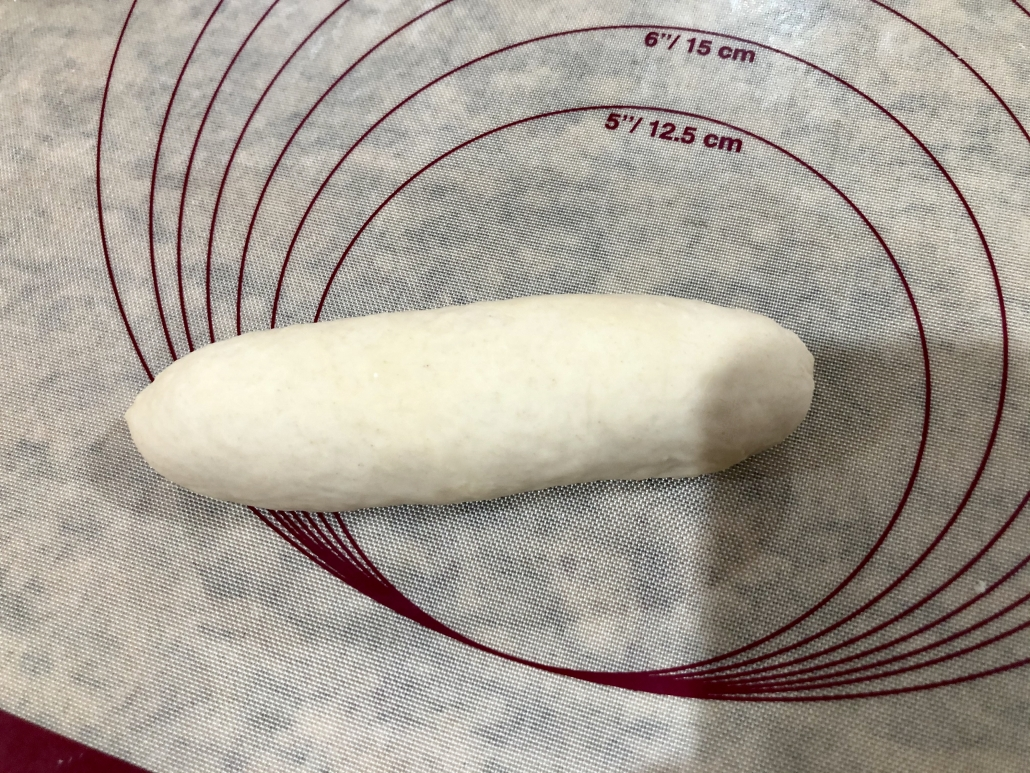 Shaping the buns