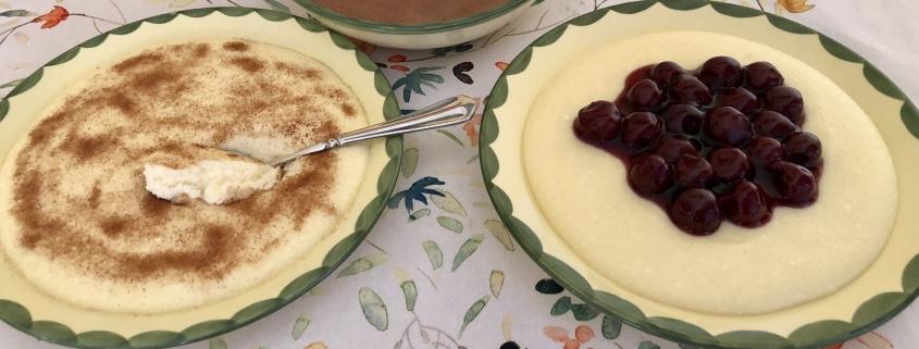 Semolina Pudding - Grießbrei