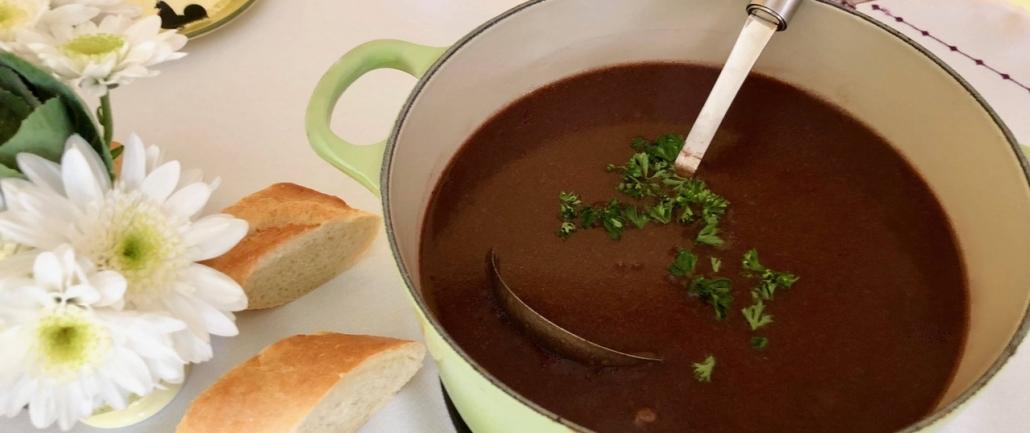 German Oxtail Soup