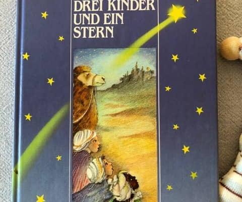 Drei Kinder und ein Stern