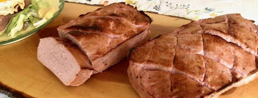 Homemade German Leberkase Fleischkase